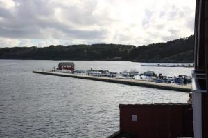 Utsikt båthavn